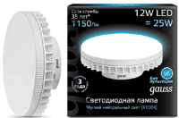 Лампа Gauss LED GX70 12W 4100K 131016212