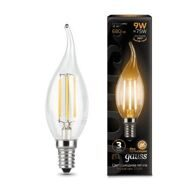 Лампа светодиодная Gauss LED Filament Candle tailed E14 9W 2700K 104801109