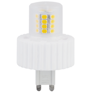 Светодиодная лампа Ecola G9  LED Premium 7,5W Corn Mini 220V 4200K 300° (керамика) 61x40 G9PV75ELC
