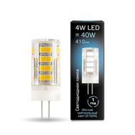 Лампа Gauss LED G4 AC185-265V 4W 410lm 4100K керамика 107307204