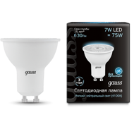 Лампа Gauss LED MR16 GU10 7W 630lm 4100K 101506207